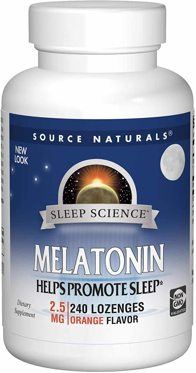 Source Naturals Melatonin Orange Lozenges