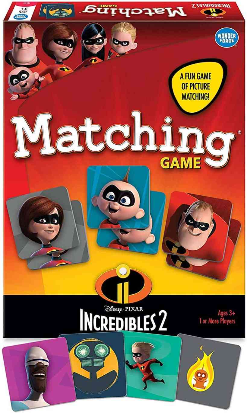 Wonder Forge Incredibles Matching Board
