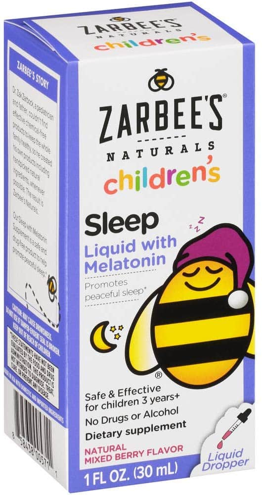 Zarbees Naturals Childrens Melatonin Natural