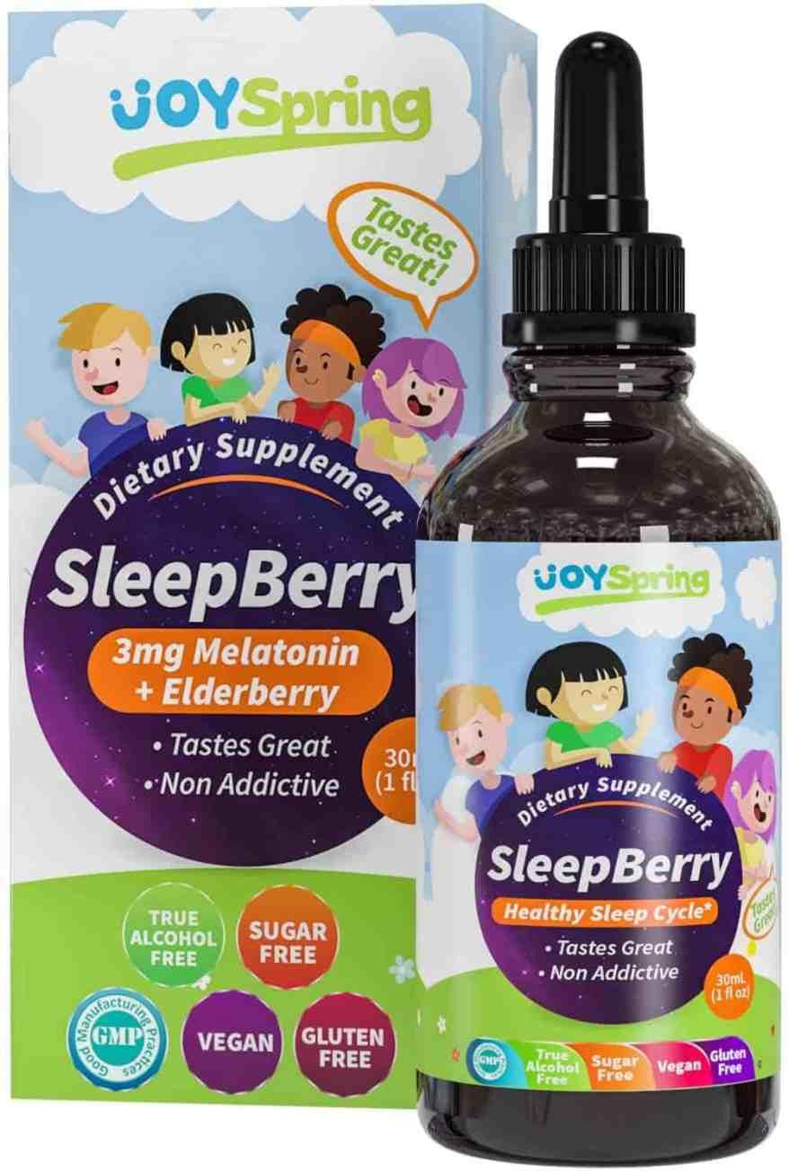 SleepBerry Liquid Melatonin for Kids