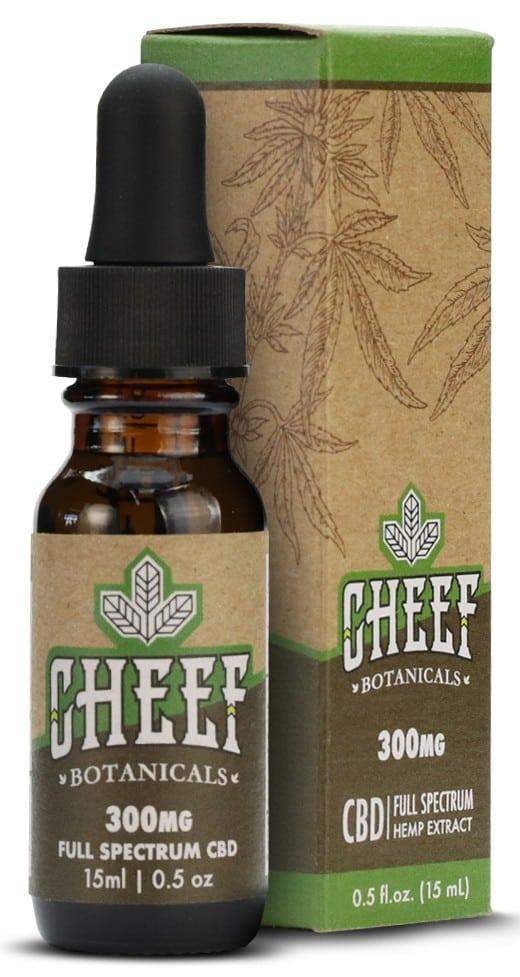 Cheef Botanicals - Full Spectrum CBD Oil