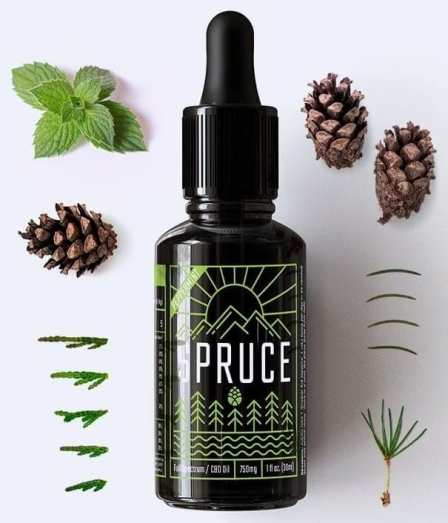 Spruce-750MG Lab grade CBD Oil