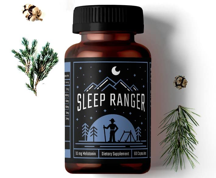 Spruce Sleep ranger premium melatonin blend