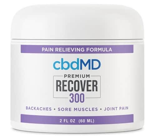 cbdMD CBD Recover Tub 300 mg