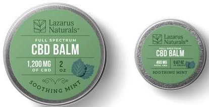Soothing Mint CBD Balm