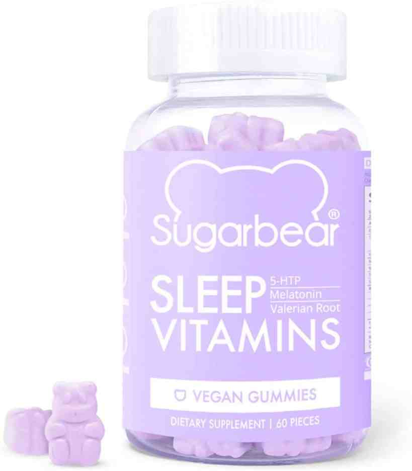 SugarBear Sleep, Vegan Gummy Vitamins