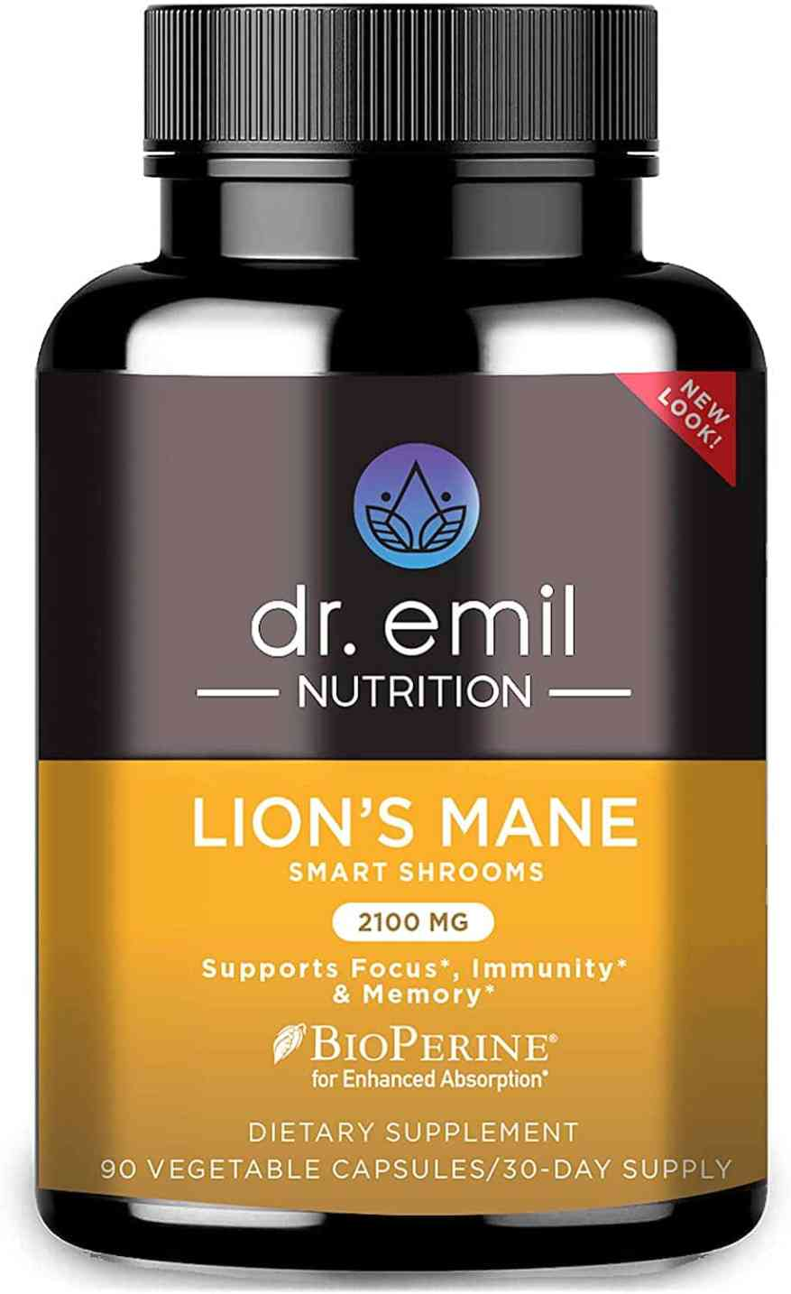 Dr. Emil Lion's Mane Capsules