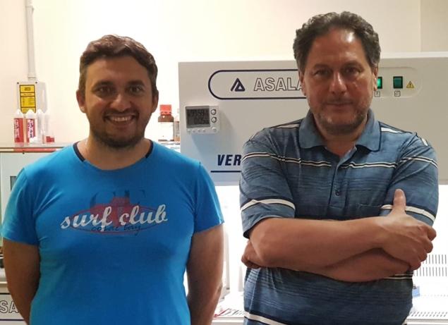 Raffaele Velotta and Bartolomeo Della Ventura
