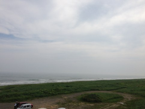 view from Shiranuka Koitoi Roadside station