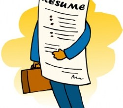 "Photo of How to find a ""jagged"" resume"