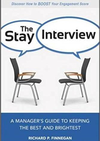 Stay Interview, Employee Retention, Employee Engagement