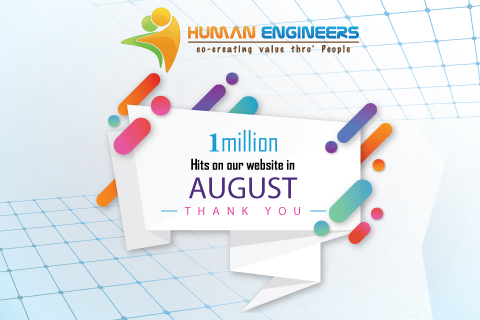 Photo of RECORD VIEWERSHIP – www.humanengineers.com attracts record – 1.46 million hits in August 2017