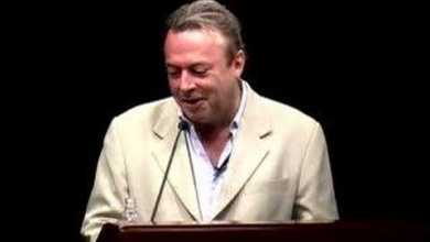 Photo of Christopher Hitchens | Talks at Google