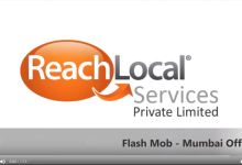 Photo of Flash Mob in ReachLocal India