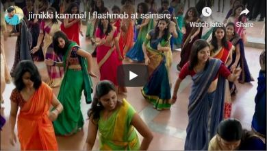 Photo of Flashmob at SSIMSRC Medical College – Jimikki Kammal