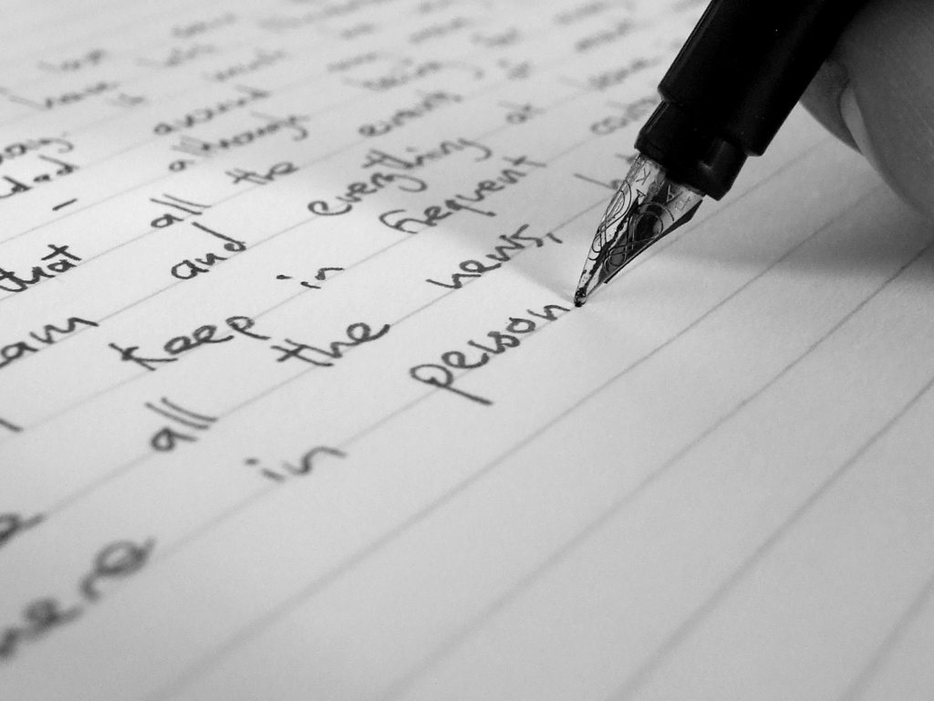 writing a letter to a