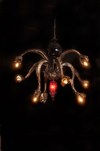 Medusa chandelier. Courtesy of Adam Wallacavage.