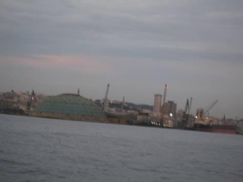 Entrée de la Marina Coruna