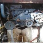Le moteur : YANMAR YS8, moteur agricole marinisé