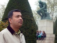 Avijit Roy, founder of the Mukto-Mona ('Free Mind') blogging platform, who died in a brutal attack in February.