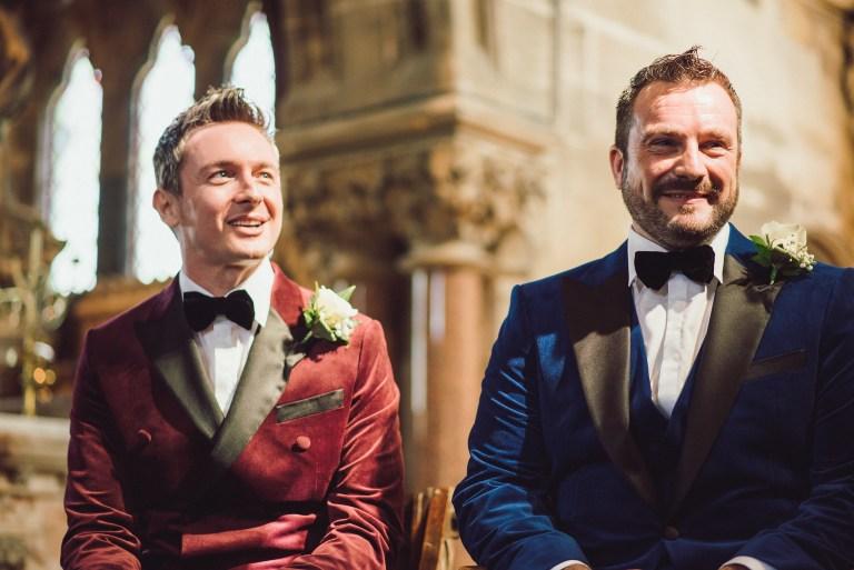 Same-sex humanist wedding