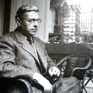 Filosofen Jean-Paul Sartre har vært viktig for humanismen, men hans forsvar for Stalin har også gjort ham omstridt. Foto: Wikimedia Commons.