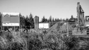 Byggeplassen til Islands første hedenske gudshus på 1000 år ser til forveksling lik ut som enhver annen byggeplass. Foto: May-Britt Bjørlo Henriksen.