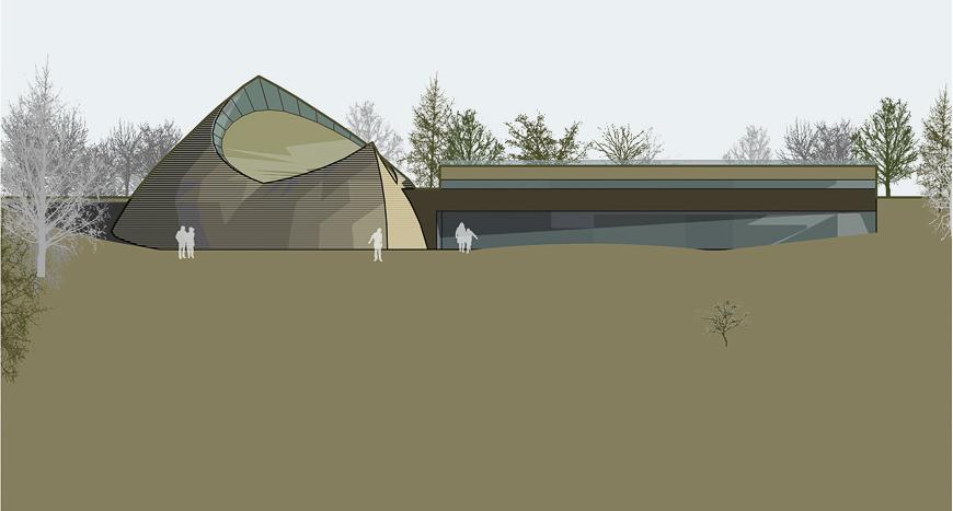 Tegningene for Islands nye hov viser en bygning der gamle skikker møter moderne arktitektur.