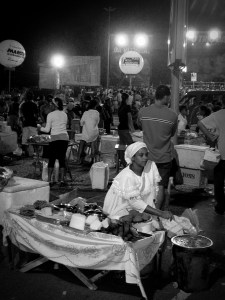 Den tradisjonsrike retten acareje forbindes med afrikansk religion. Protestanter som lager den vil derfor døpe retten om til Bolinho de Jesus - Jesusbolle. Foto: Roar Nerdal