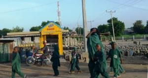 Skolebarn i Kano. Boko Harams kidnappingskampanje i 2013/14 rettet seg spesielt mot skoleelever, noe som førte til at mange foreldre i Nord-Nigeria tok barna sine ut av skolen. Foto: Maren Sæbø.
