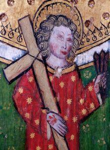 St. William av Norwich. Anonymt kirkemaleri fra 1400-tallet fra kirken St Peter and St Paul i Eye i Suffolk. Foto: Wikimedia Commons