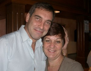 Jane Nicklinson (right) pictured with her late husband, Tony. Photo credit: Jane Nicklinson.