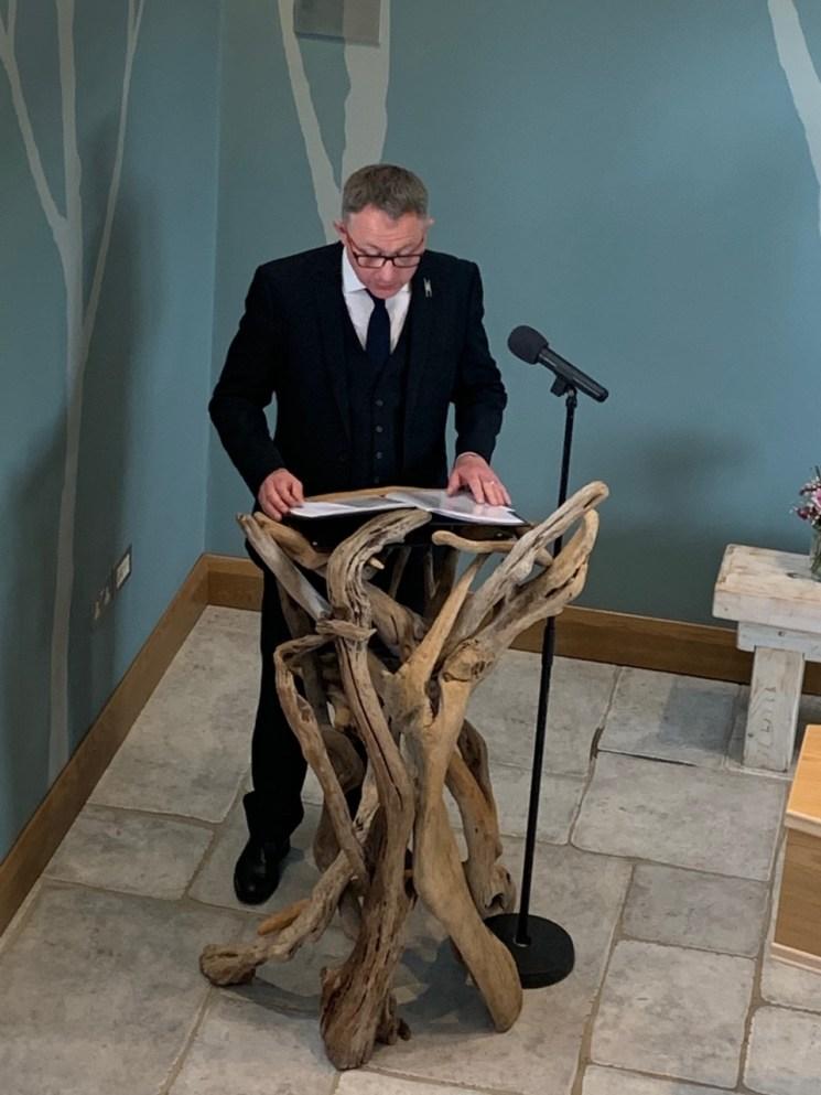 Humanist funeral celebrant Simon Bull by Richard Hackett