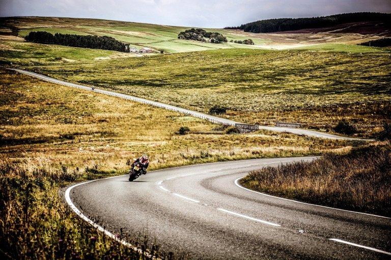 Biker funeral UK