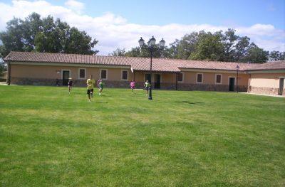 Los niños disfrutarán de los espacios verdes