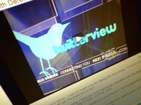 """A local ABC news station interviewed me about World Concern's humanitarian work in a """"Twitterview."""" Pretty tweet!"""