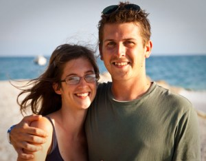 Jillian and Frank Thorp.
