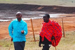 Kenyan Pastor With A World Concern Staffer