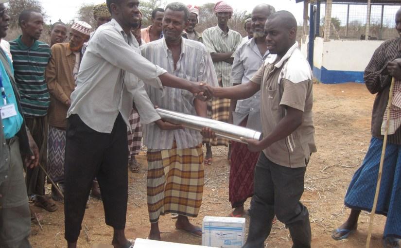Water is flowing in drought-affected Damajale, Kenya