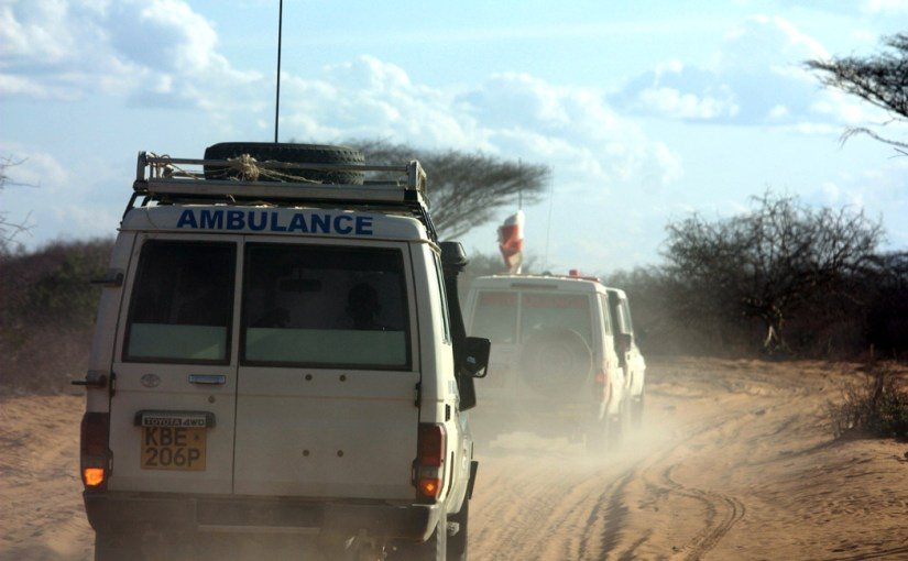 Providing aid in the face of violence