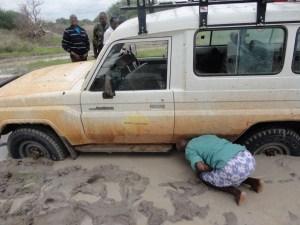 Rain and mud hinder humanitarian access in Kenya.