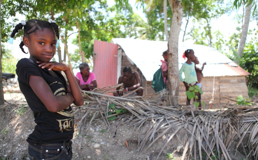 Let's focus concern on Haiti, where Isaac threatens vulnerable families