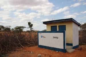 VIP latrines in Kenya