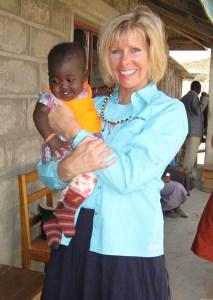 Jacinta in Kenya.