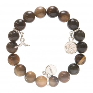 Carpia's World Concern bracelet design features our butterfly logo on the charm.