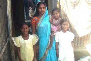 Kalyani's youngest daughter was sick and malnourished from parasites. Today, she's a happy, healthy little girl.