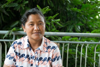 Nadhaw is committed to preventing at-risk youth in her village from becoming drug users.