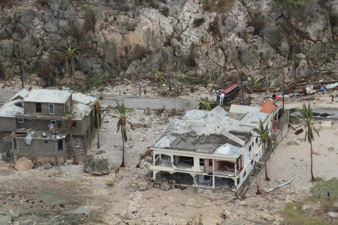 Torrential rains and gale force winds tore through Haiti's weak, and flimsy infrastructure.