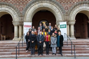 Participants at Harvard Law School for the Inaugural Humanitarian Disarmament: The Way Ahead conference.