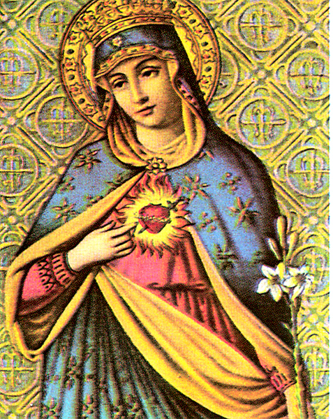 Mary pierced